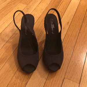Lulu Townsend peep toe heels